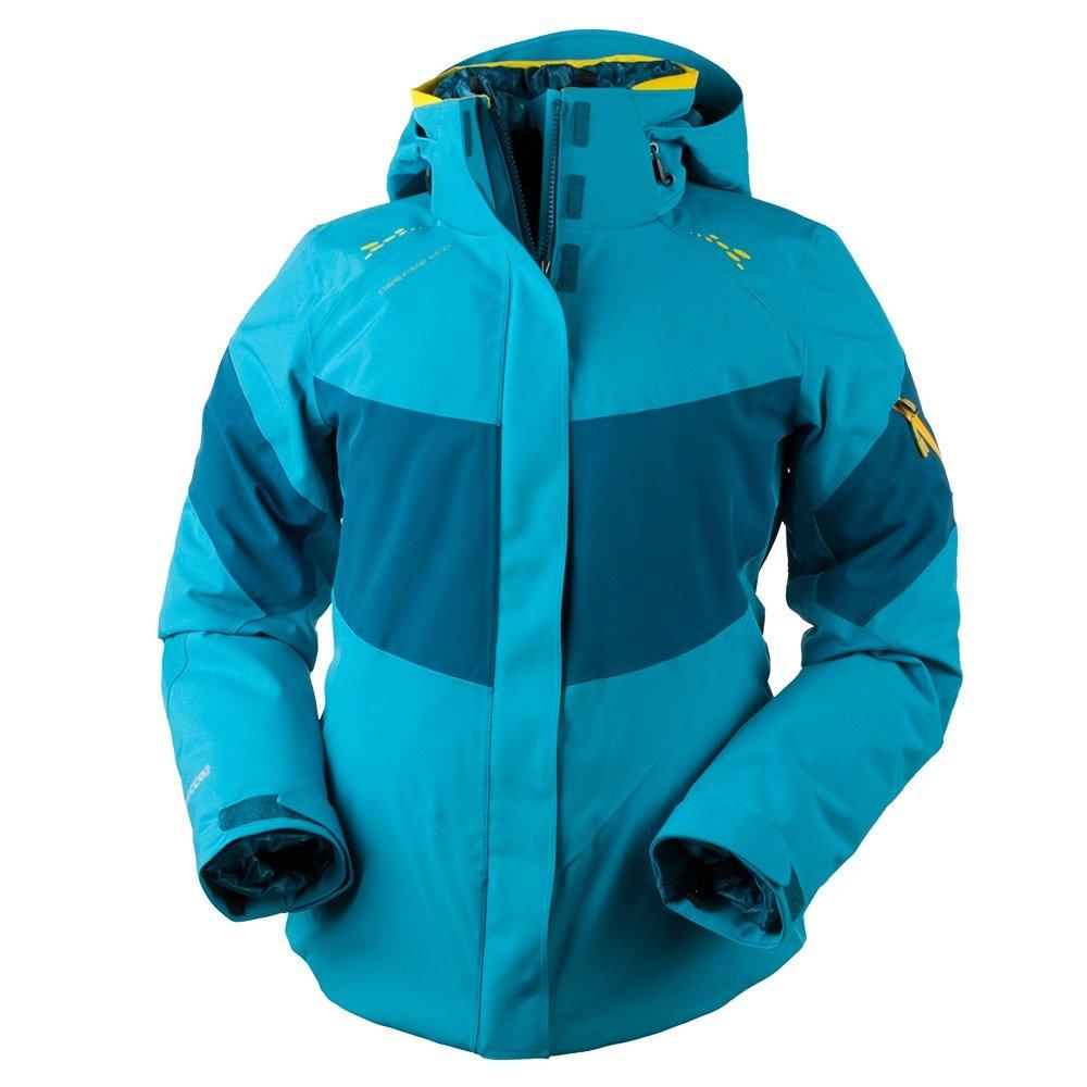Obermeyer Double Dare 4-in-1 Insulated Ski Jacket (Women's) - Mermaid