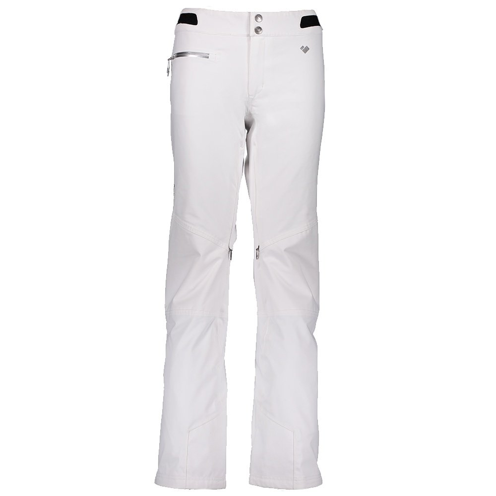Obermeyer Straight Line Insulated Ski Pant (Women's) - White