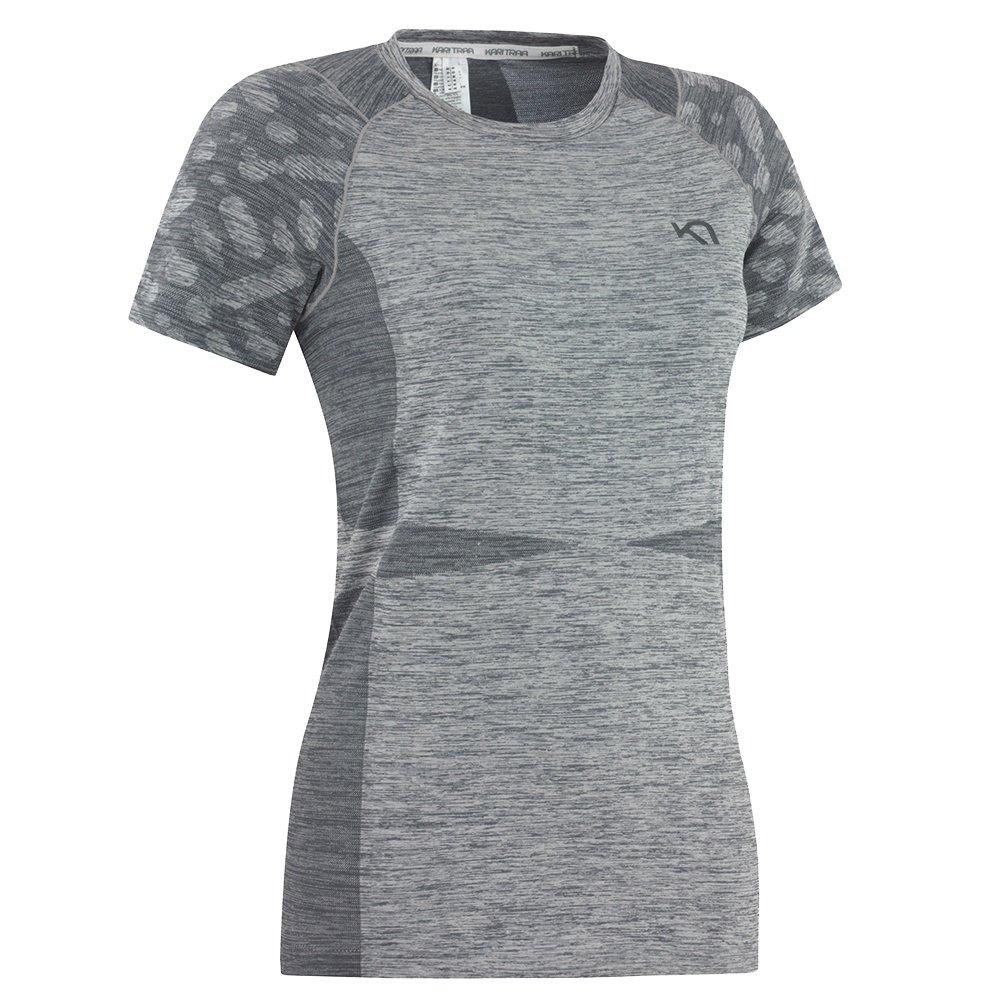 Kari Traa Marit Short Sleeve Running Shirt (Women's) - Ebony