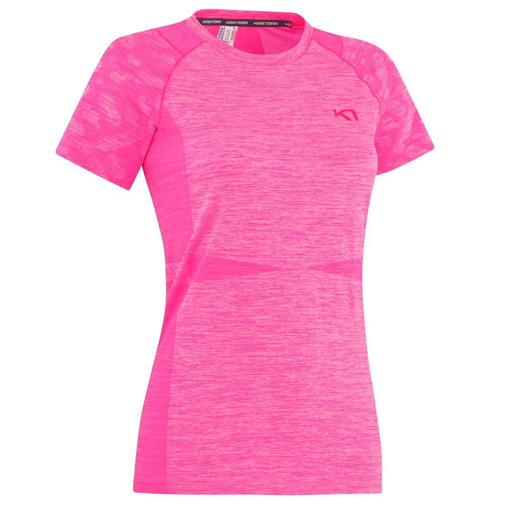 Kari Traa Marit Short Sleeve Running Shirt (Women's) - KPink