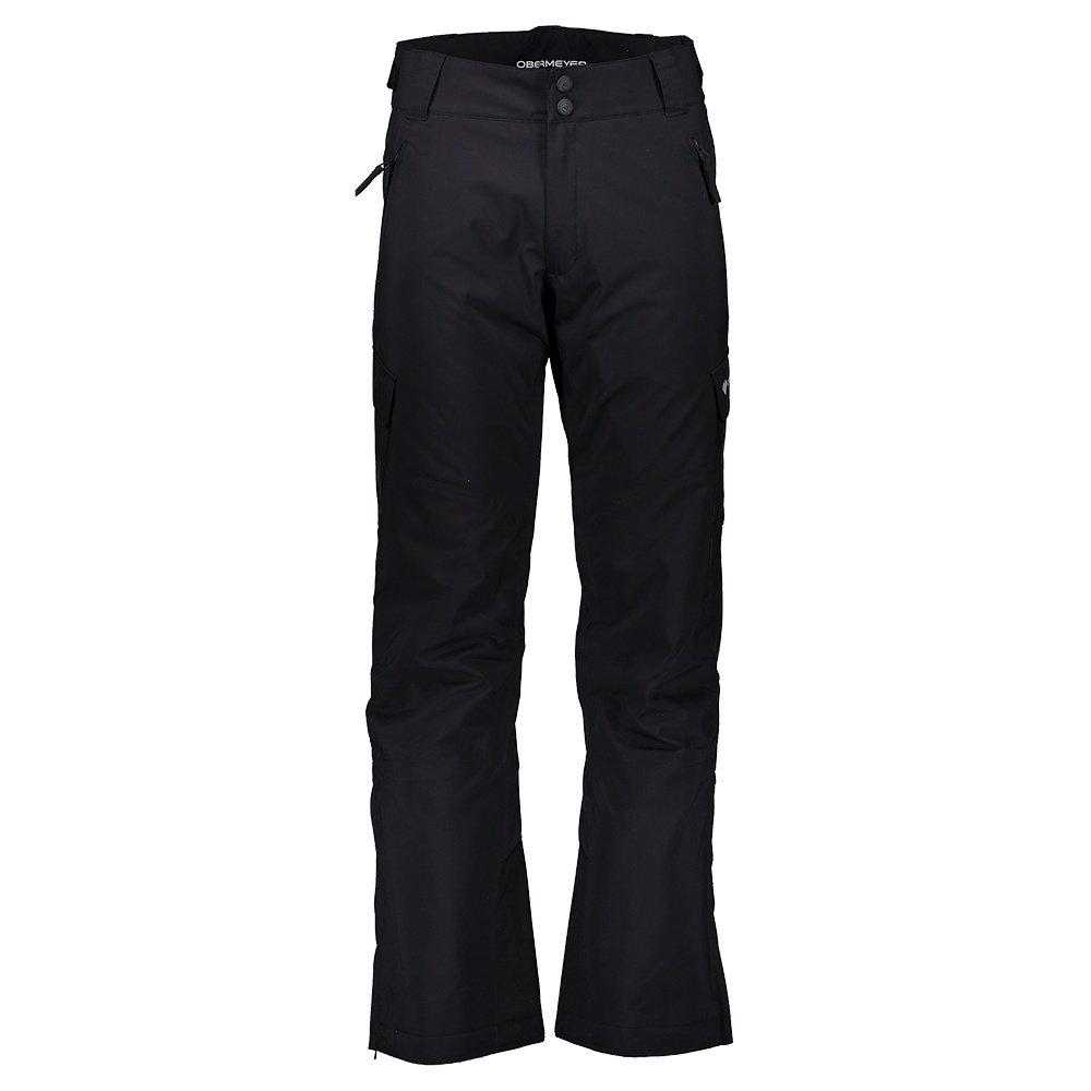 Obermeyer Alpinist Stretch Insulated Ski Pant (Men's) - Black