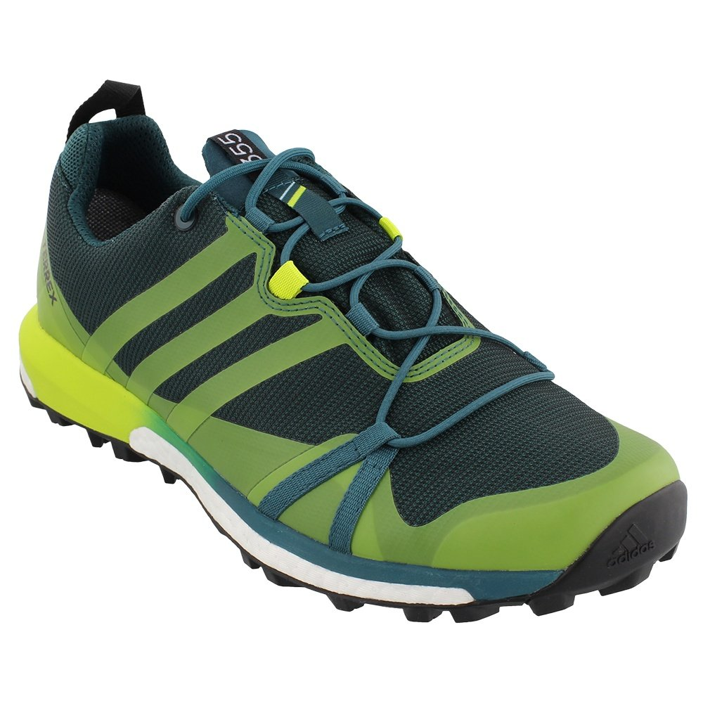 Adidas Terrex Agravic GORE-TEX Running Shoe (Men's) - Mstery Green
