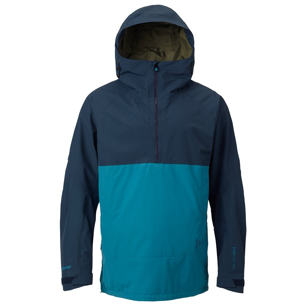 Burton AK Gore Velocity Anorak Shell Snowboard Jacket (Men's) - Mountaineer/Mood Indigo