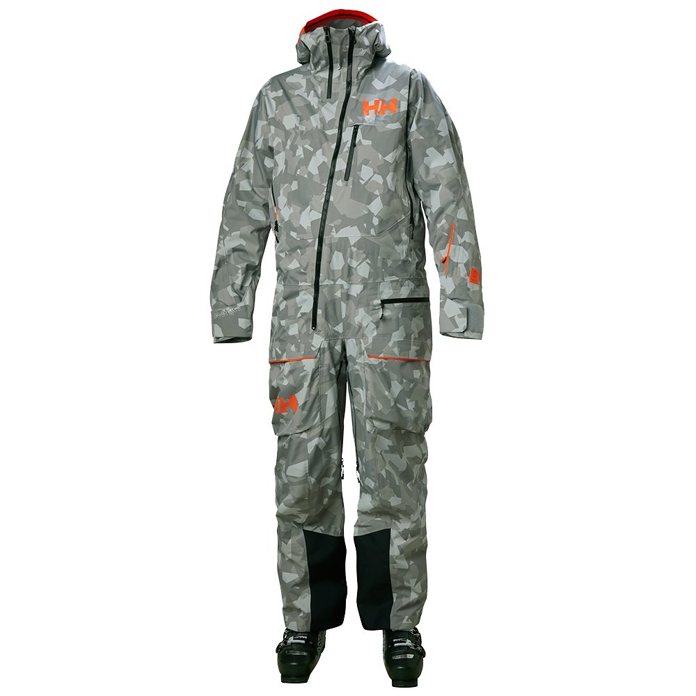 Helly Hansen Ullr Powder Ski Suit (Men's) - Quiet Shade Camo