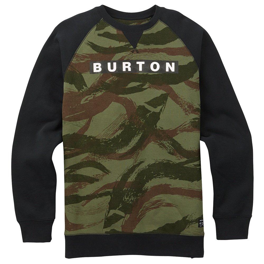 Burton Vault Crew Sweatshirt (Men's) - Brush Camo