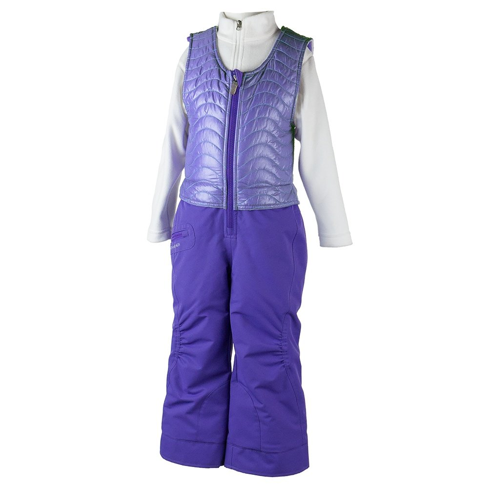 Obermeyer Ober-All Insulated Ski Bib (Little Girls') - Grapesicle
