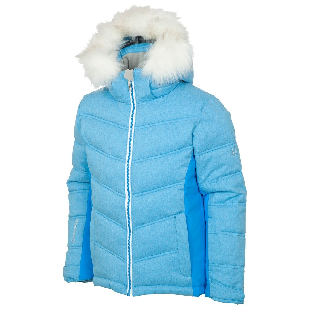 Sunice Julietta Synthetic Down Ski Jacket (Girls') - Azzure Flannel
