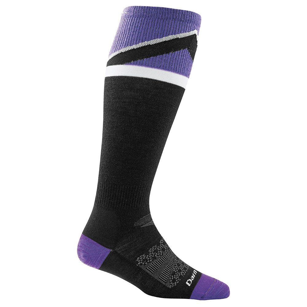 Darn Tough Mountain Top Cushion Ski Sock (Women's) - Purple