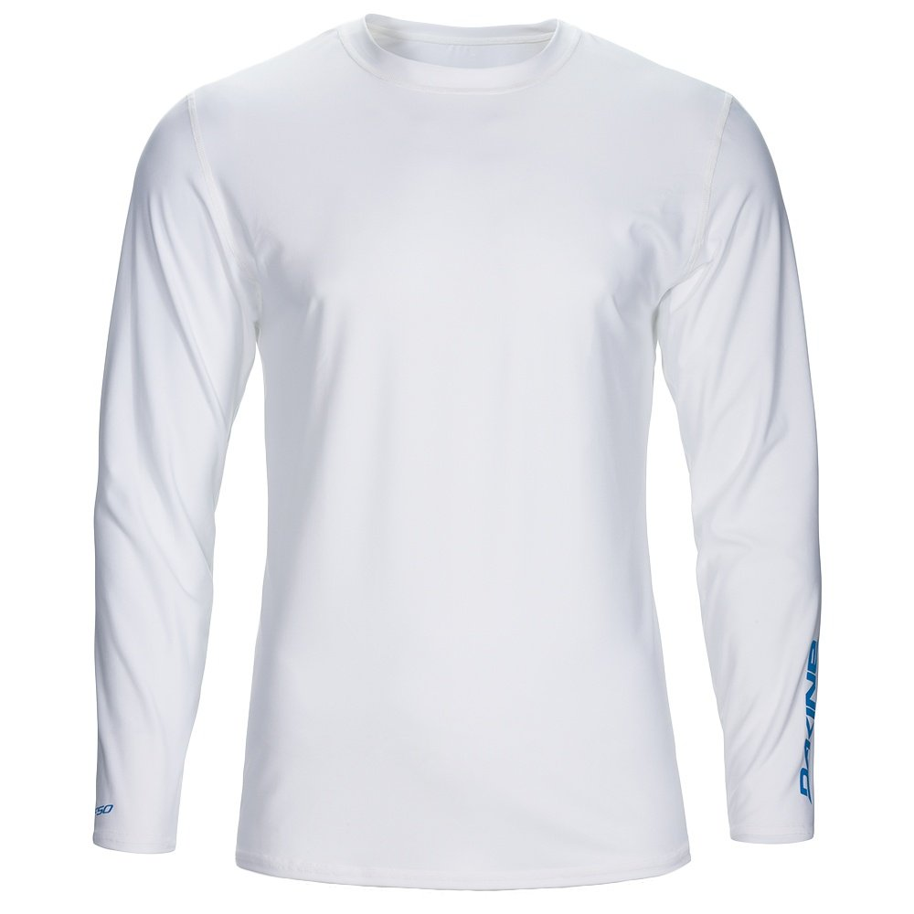 Dakine Heavy Duty Loose Fit Long Sleeve  Rash Guard (Men's) - White