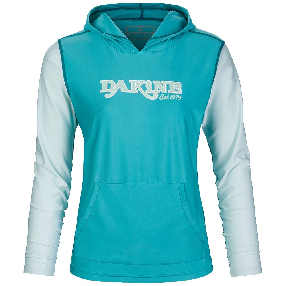 Dakine Flow Loose Fit Hooded Long Sleeve Rash Guard (Women's) - Bay Islands