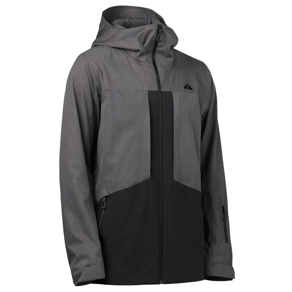Strafe Ozone Insulated Ski Jacket (Men's) - Heather Grey