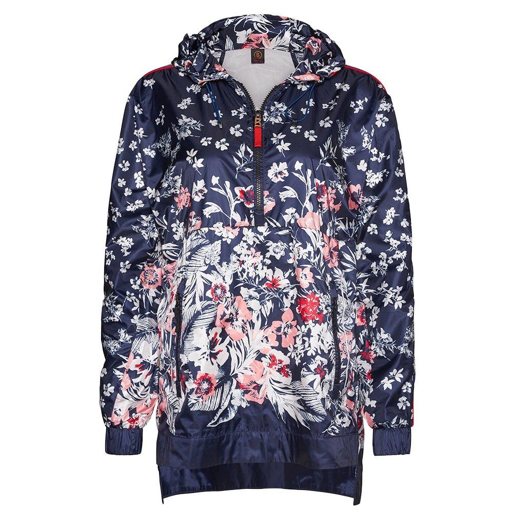 Bogner Fire + Ice Zoe Windreaker Jacket (Women's) - Ink Flower Print
