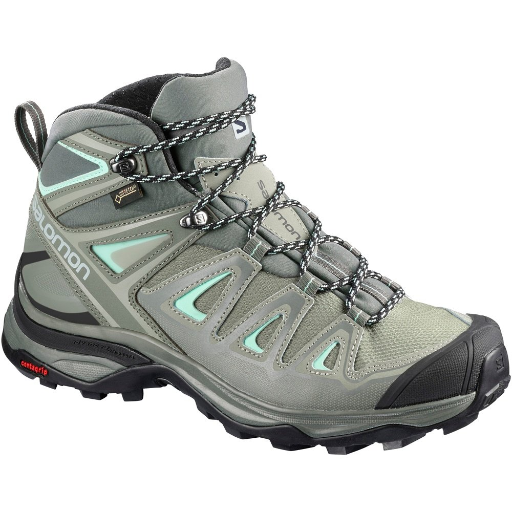 Salomon X Ultra 3 Mid GORE-TEX Hiking Boot (Women's) - Shadow