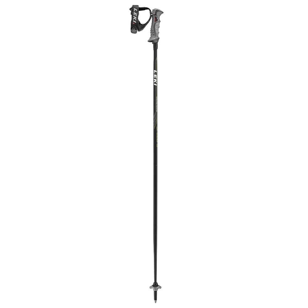 Leki Speed S Ski Pole - Black/Green