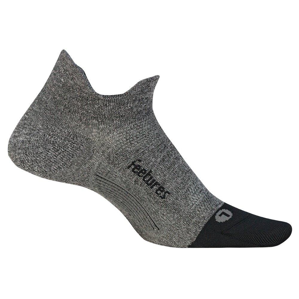 Feetures Elite Ultra Light Running Socks (Men's) - Grey