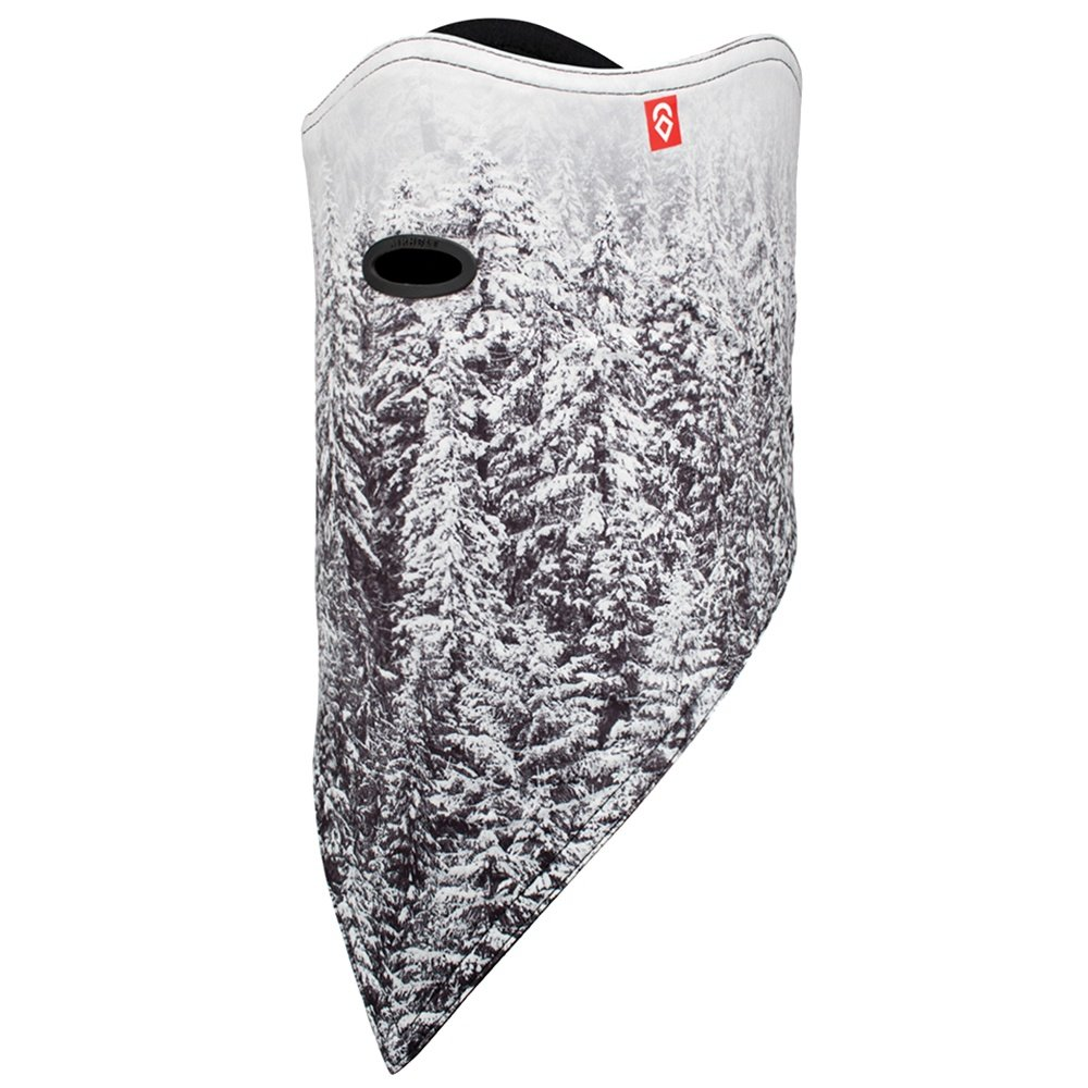 Airhole Standard Print Facemask - Snow Ghosts