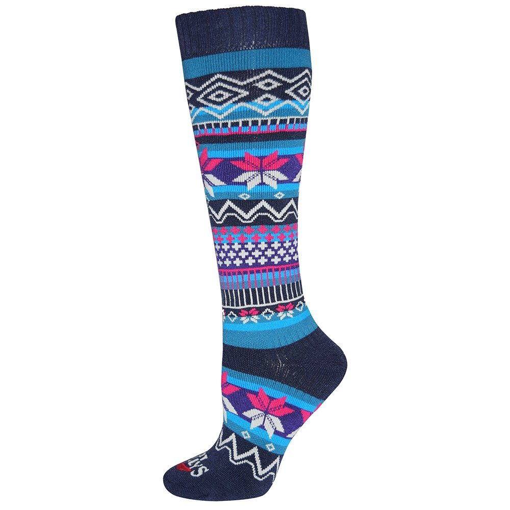 Hot Chillys Prima Mid Volume Sock (Women's) - Prima/Navy