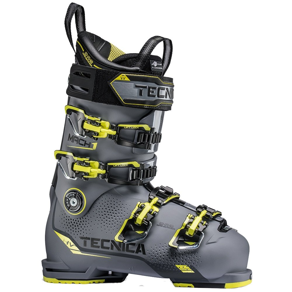Tecnica Mach1 120 HV Ski Boot (Men's) - Antracite/Lime