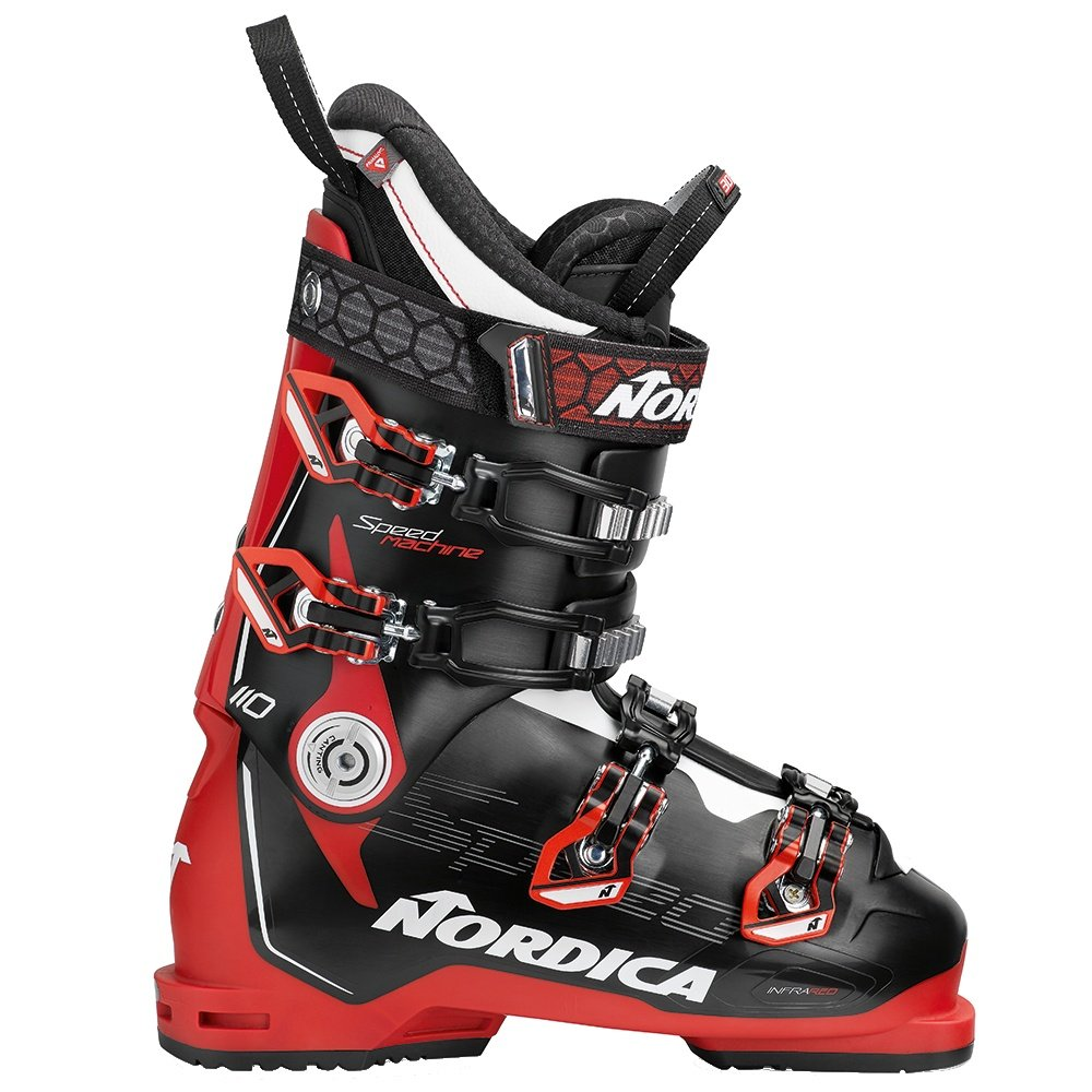 Nordica Speedmachine 110 Ski Boot (Men's) - Black/Red/White