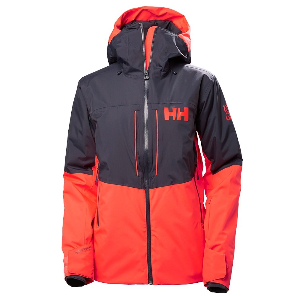 Helly Hansen Freedom Insulated Ski Jacket (Women's) - Neon Coral