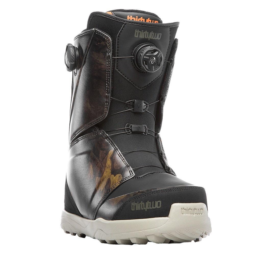 ThirtyTwo Lashed Double Boa Snowboard Boot (Men's) - Black/Camo