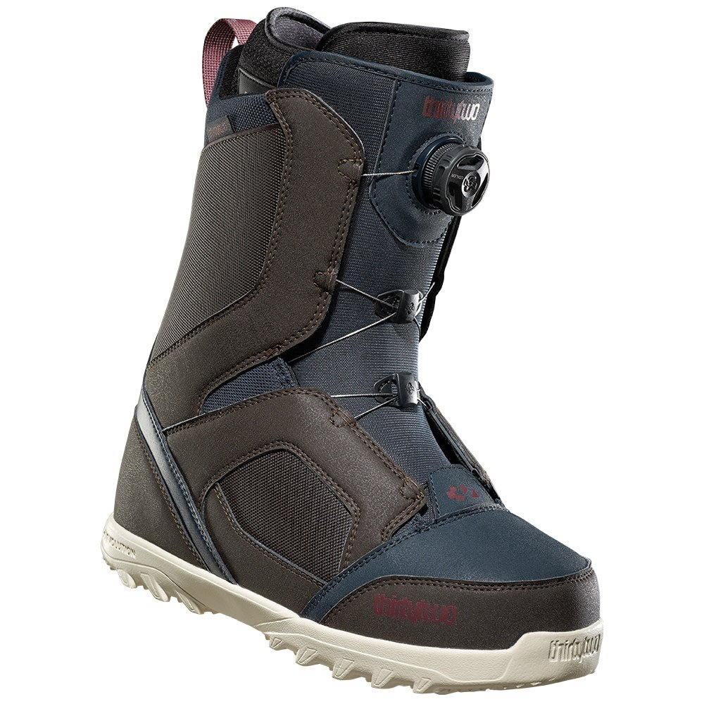 ThirtyTwo STW Boa Snowboard Boot (Men's) - Brown/Navy