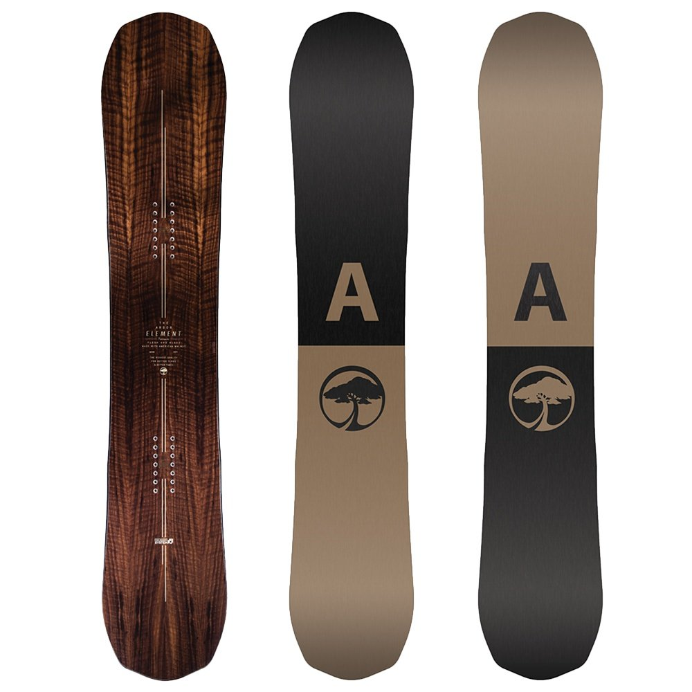 Arbor Element Mid-Wide Snowboard (Men's) - 158