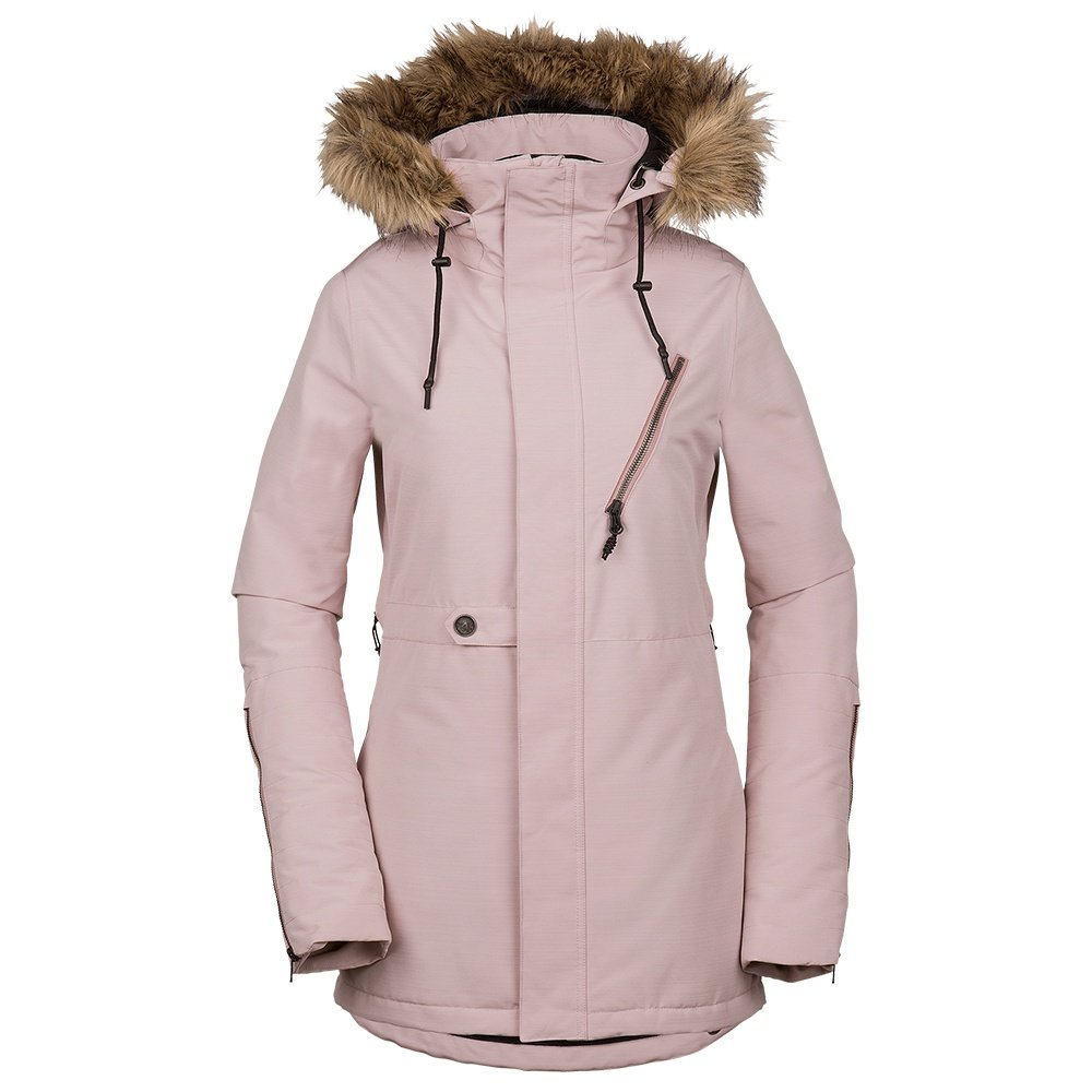Volcom Fawn Insulated Snowboard Jacket (Women's) - Rosewood