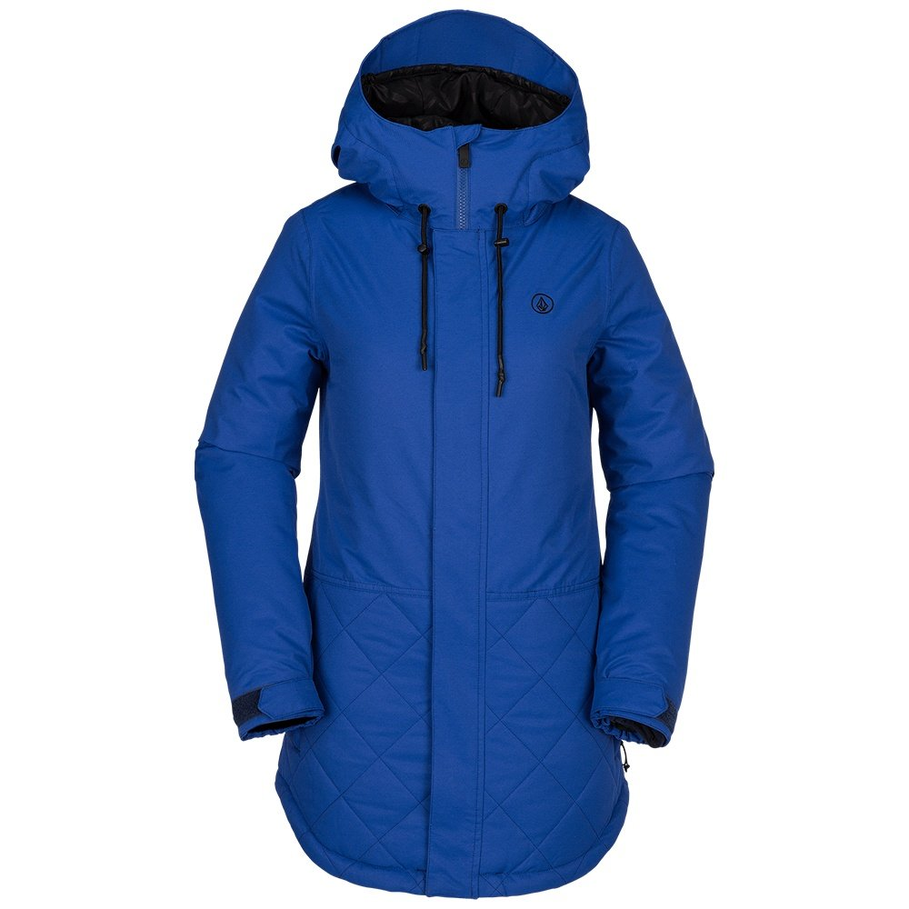 Volcom Winrose Insulated Snowboard Jacket (Women's) - Electric Blue