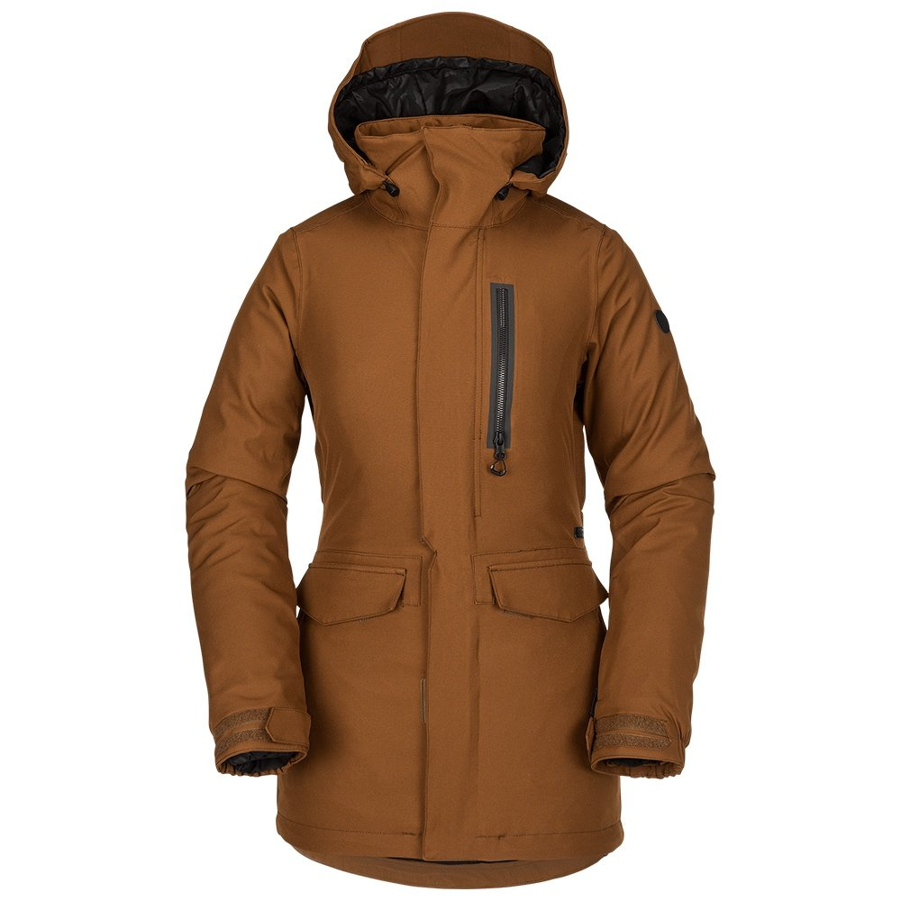 Volcom Shelter 3D Stretch Insulated Snowboard Jacket (Women's)  - Copper