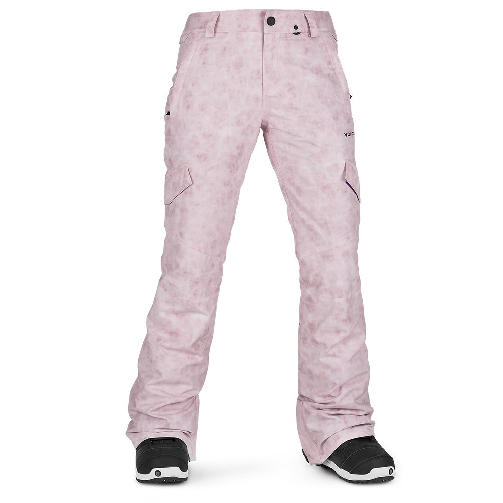 Volcom Bridger Insulated Snowboard Pant (Women's) - Pink