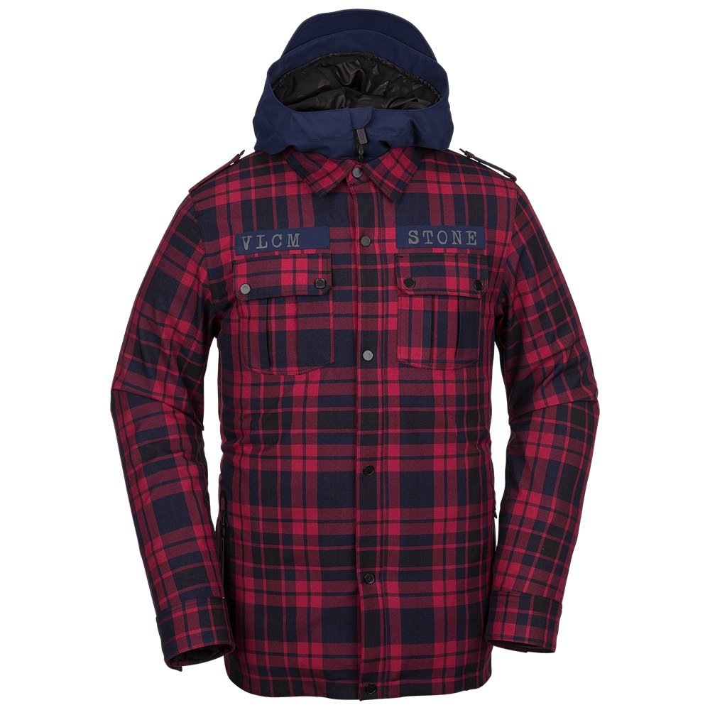 Volcom Creedle2Stone Insulated Snowboard Jacket (Men's)  - Red