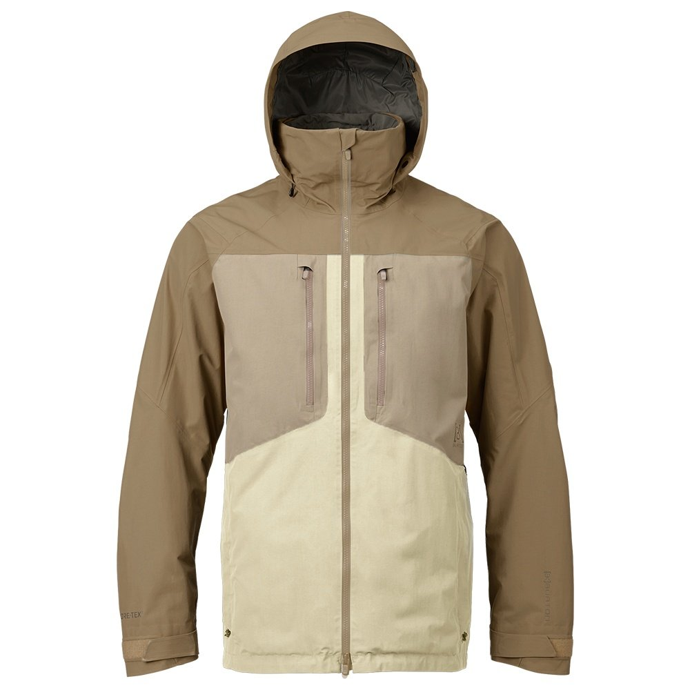 Burton AK GORE-TEX Swash Insulated Snowboard Jacket (Men's) - Canvas/Safari/Kelp