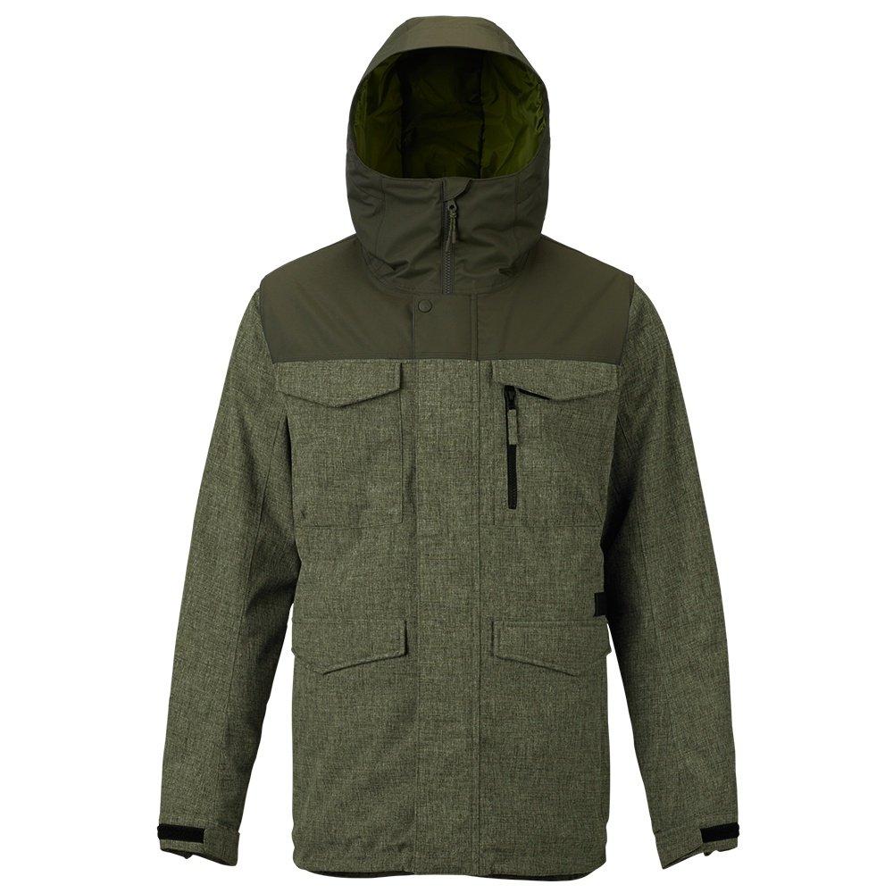 Burton Covert Insulated Snowboard Jacket (Men's) - Forest Night Heather/Forest Night