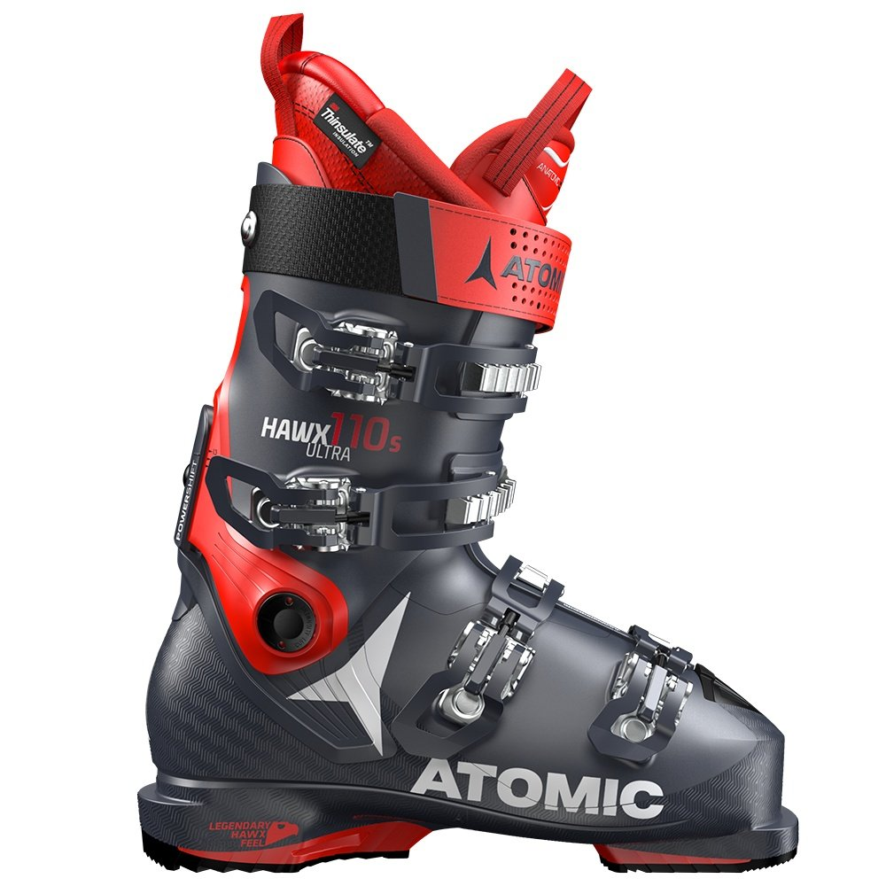 Atomic Hawx Ultra 110S Ski Boot (Men's) - Dark Blue/Red