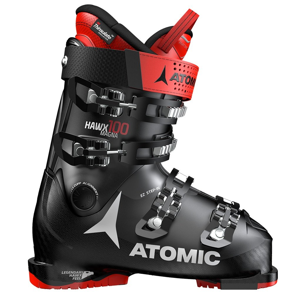 Atomic Hawx Magna 100 Ski Boot (Men's) - Black/Red