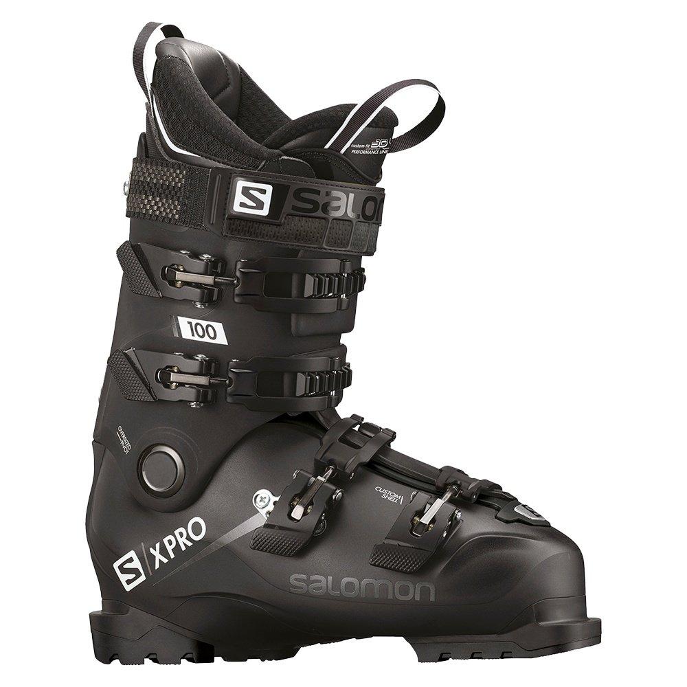 Salomon X Pro 100 Ski Boot (Men's) - Black/White