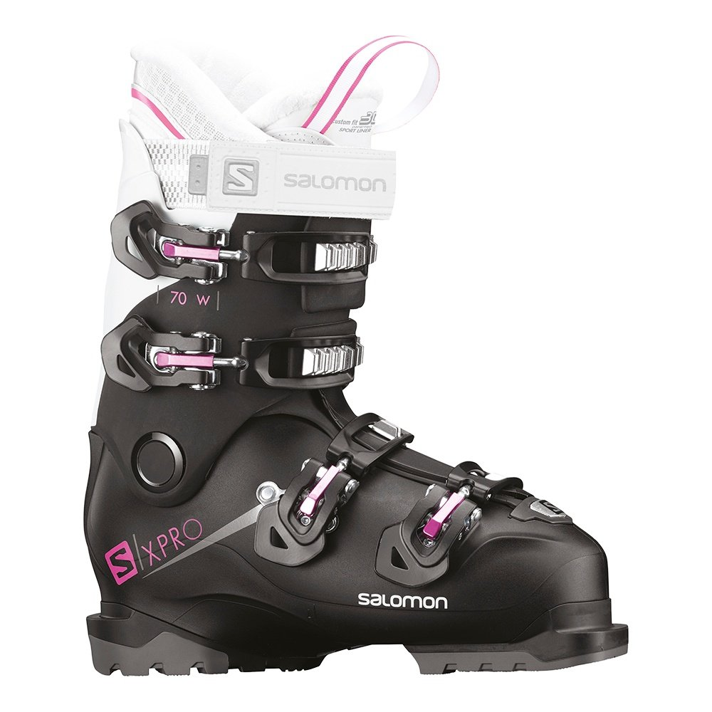 Salomon X Pro 70 Ski Boot (Women's) - Black/White/Pink