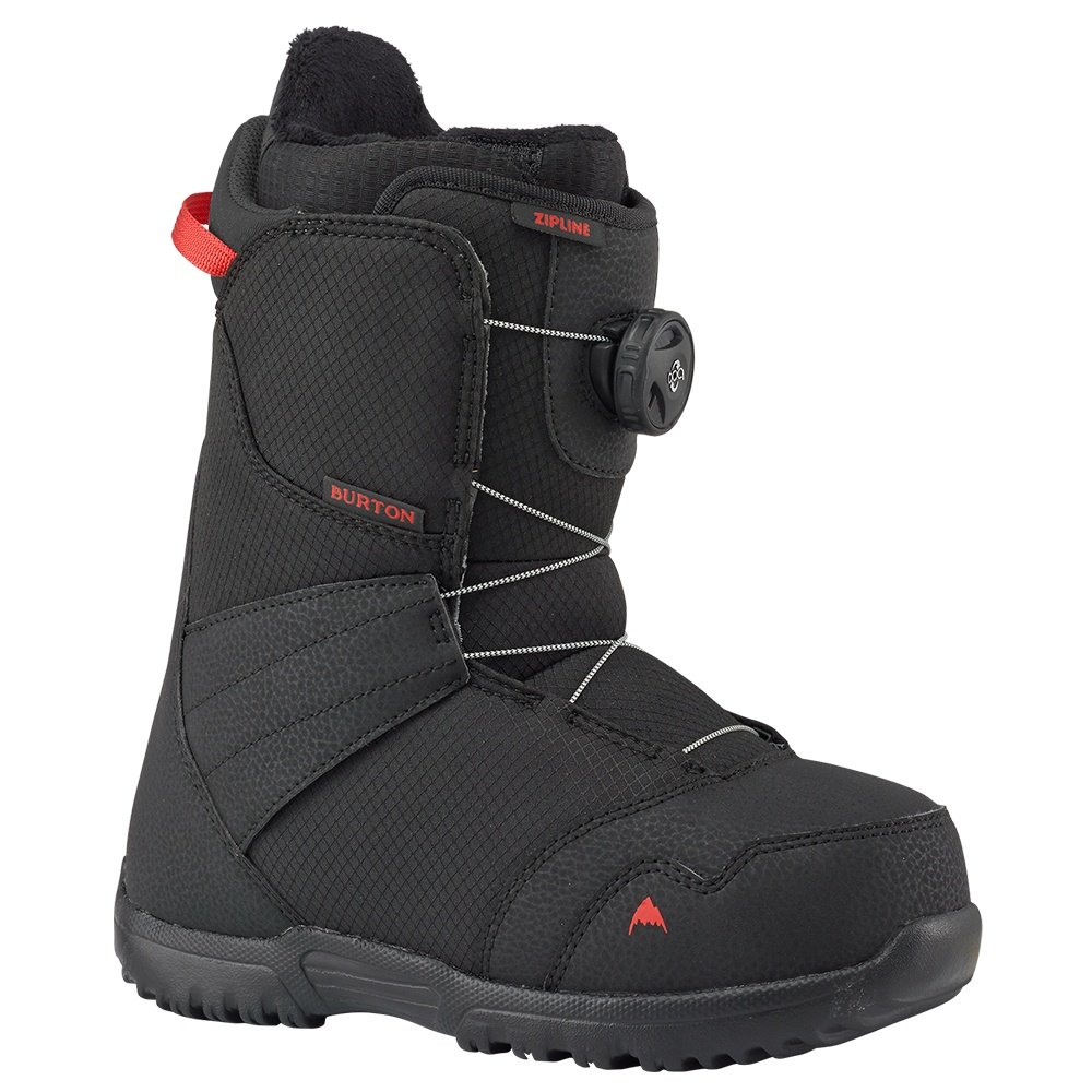 Burton Zipline Boa Snowboard Boots (Kids') - Black