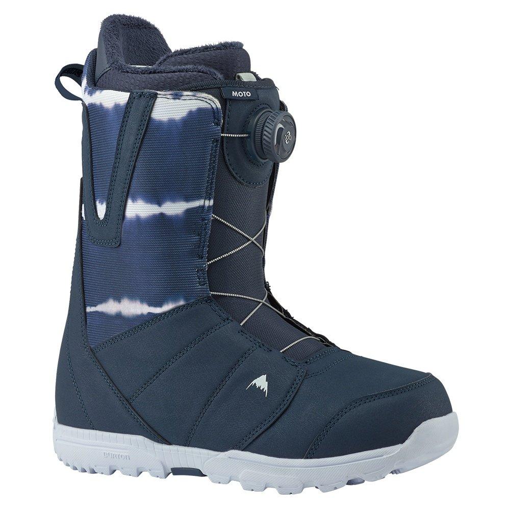 Burton Moto Boa Snowboard Boot (Men's) - Midnight Blue