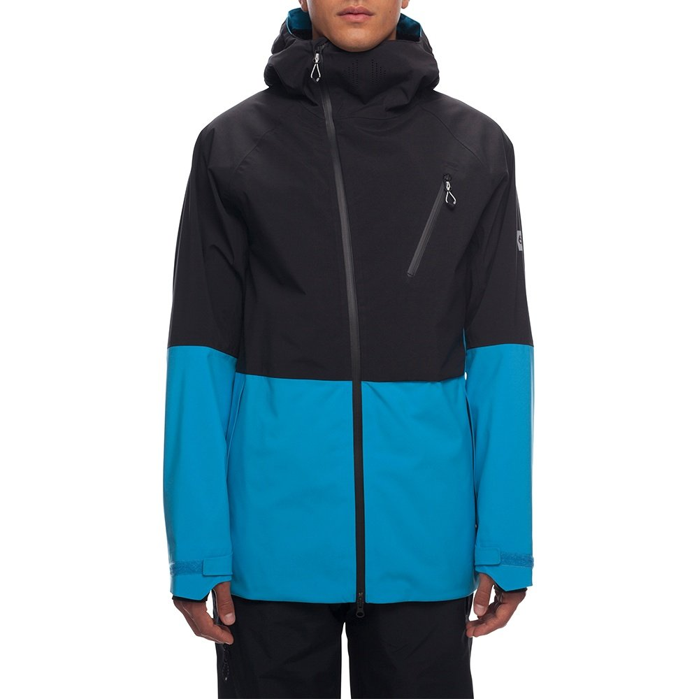 686 Hydra Thermagraph Insulated Snowboard Jacket (Men's) - Bluebird Colorblock