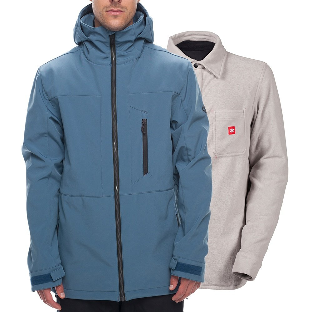 686 Smarty 3-in-1 Phase Softshell Snowboard Jacket (Men's) -