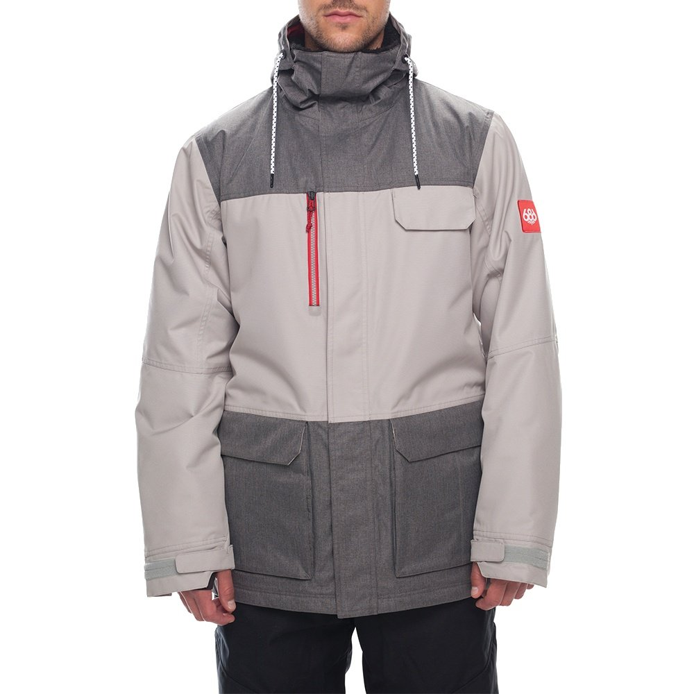686 Sixer Insulated Snowboard Jacket (Men's) - Coors Light