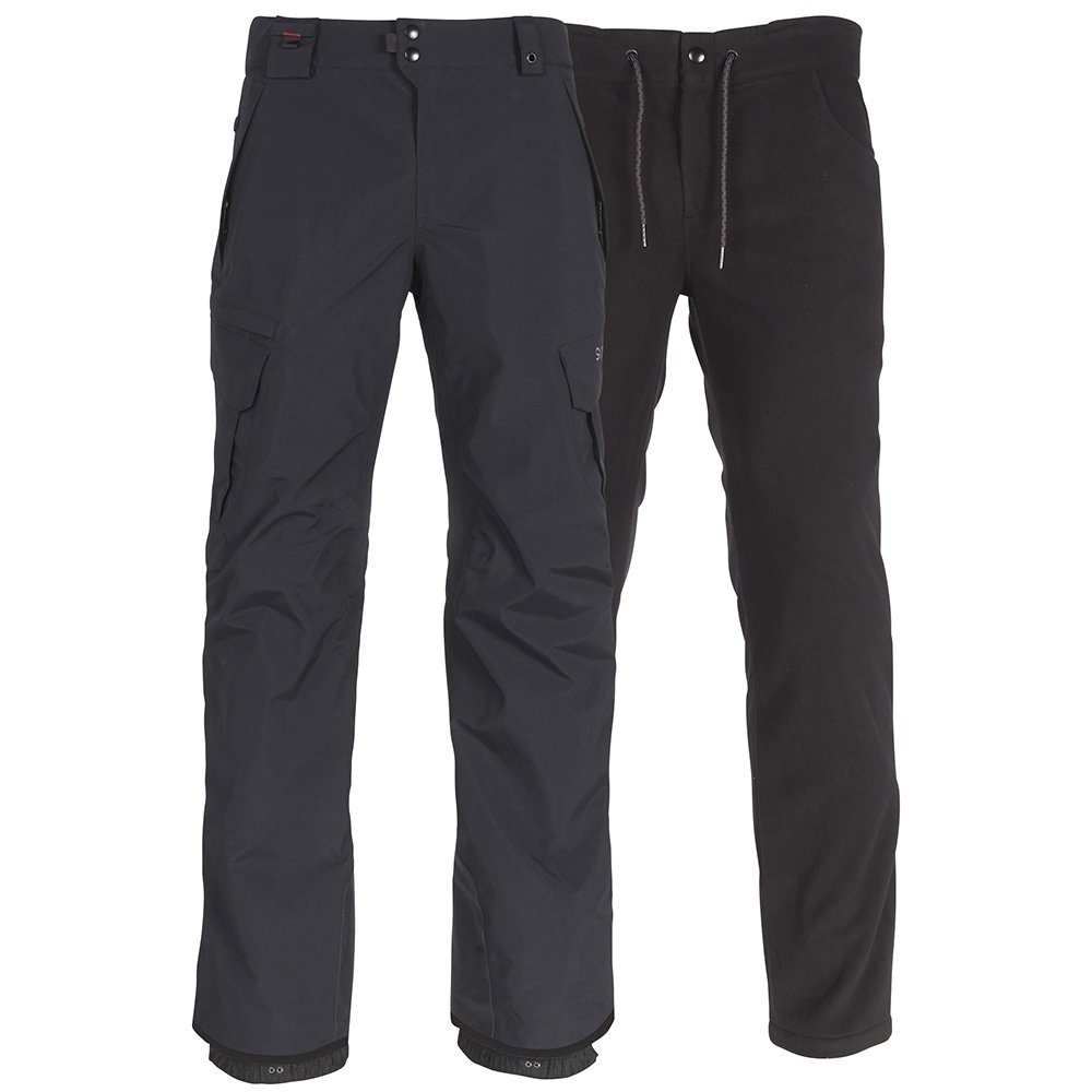 686 GORE-TEX Smarty 3-in-1 Cargo Snowboard Pant (Men's) - Black