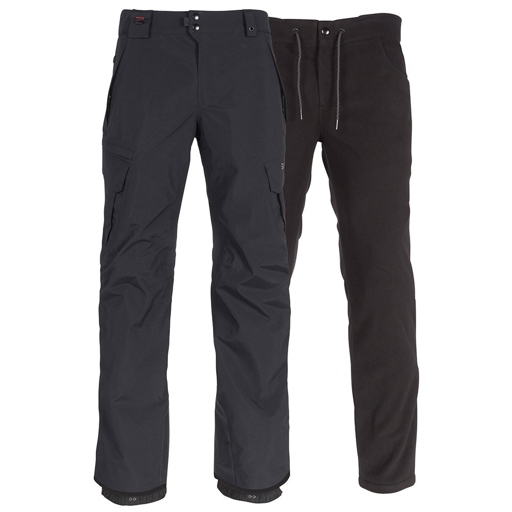 686 Tall Smarty 3-in-1 Cargo Snowboard Pant (Men's) - Black