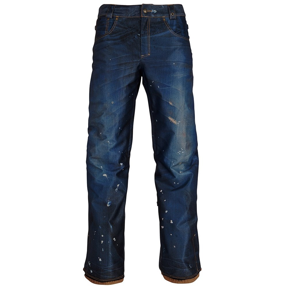 686 Deconstructed Denim Insulated Snowboard Pant (Men's) -
