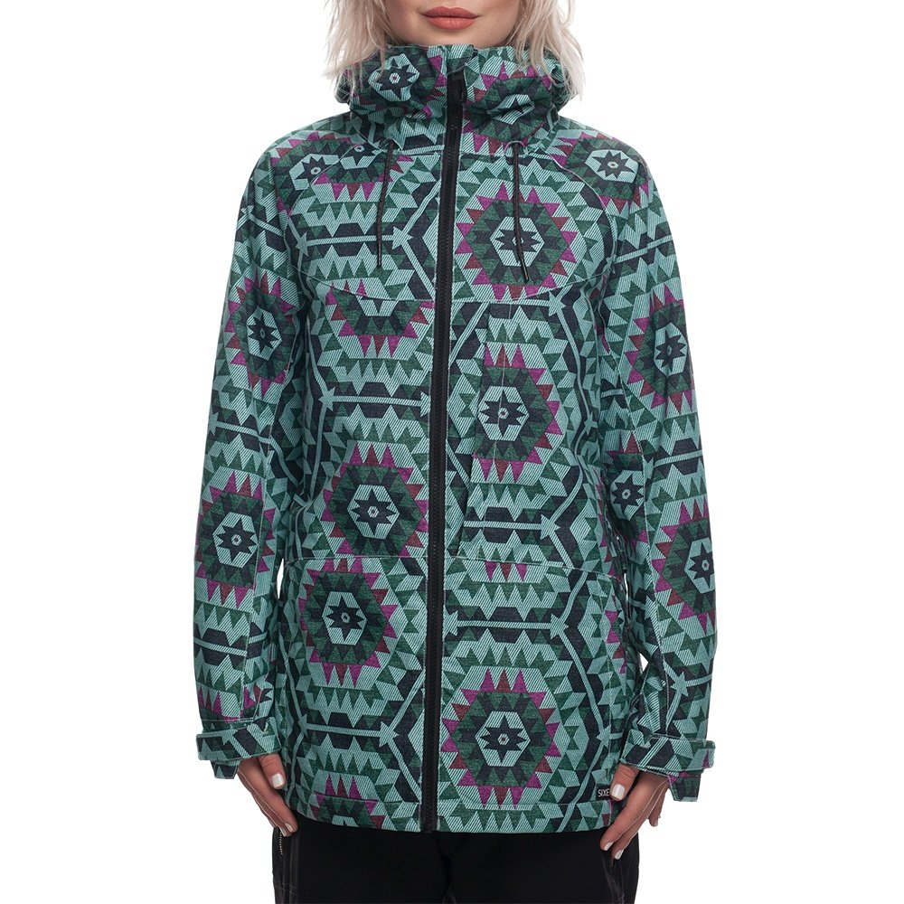 686 Athena Insulated Snowboard Jacket (Women's) - Fern Carousel