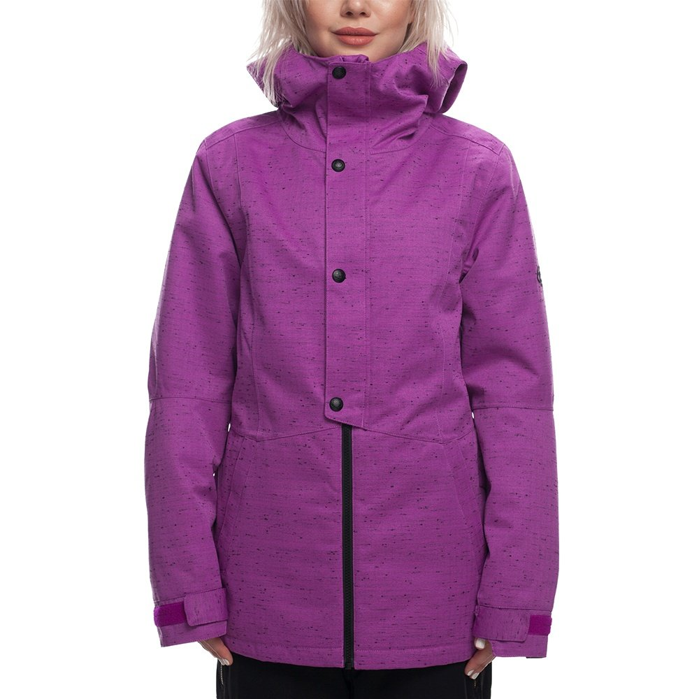 686 Rumor Insulated Snowboard Jacket (Women's) - Violet Slub