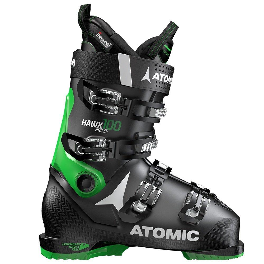 Atomic Hawx Prime 100 Ski Boot (Men's) - Black/Green