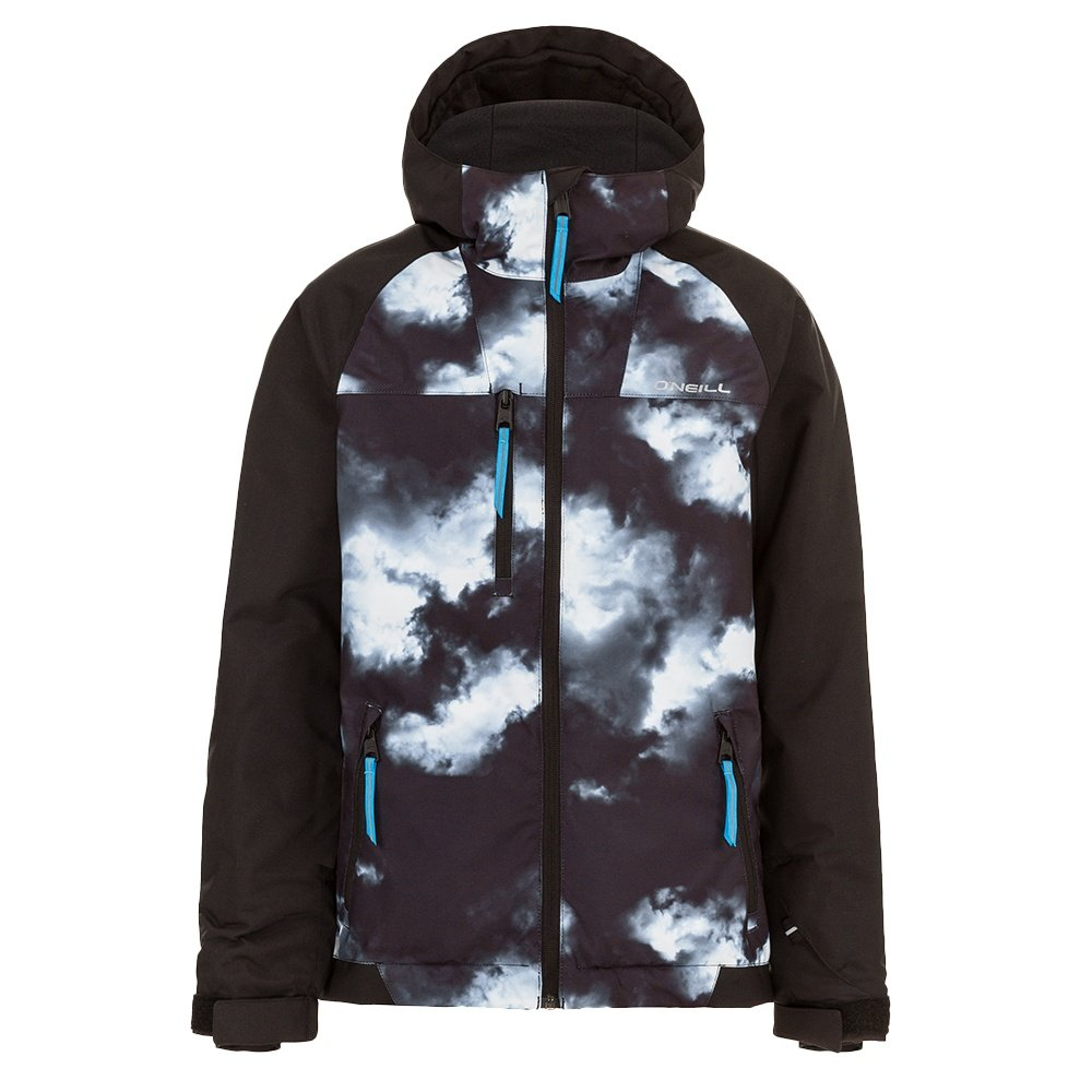 O'Neill Grid Insulated Snowboard Jacket (Boys') - Black Out